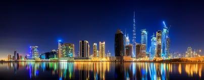 Business bay of Dubai, UAE Royalty Free Stock Photography