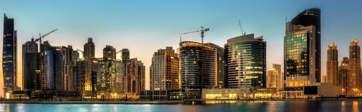 Business bay of Dubai, UAE Stock Images