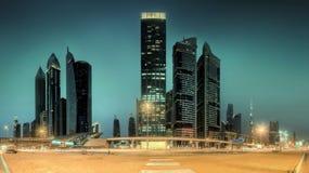 Business bay of Dubai, UAE Royalty Free Stock Photo