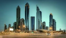 Business bay of Dubai, UAE Royalty Free Stock Image