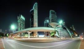 Business bay of Dubai, UAE Stock Photo