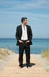 Business beach Royalty Free Stock Image