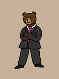 Business bear Stock Images