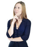 Business beautiful woman portrait Royalty Free Stock Images