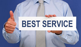 Business best service Royalty Free Stock Photo
