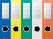 Business binder Stock Image