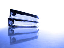 Business Binders on Desk Royalty Free Stock Image