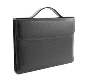 Business black briefcase Stock Images