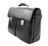 Business black briefcase Royalty Free Stock Photos