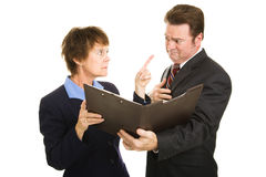 Business - The Blame Game Stock Photo