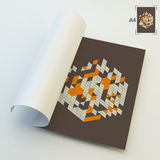 A4 Business Blank. Abstract Vector Illustration Royalty Free Stock Photo
