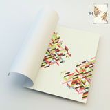 A4 Business Blank. Abstract Vector Illustration Royalty Free Stock Image