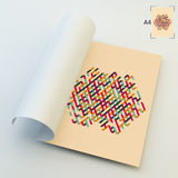 A4 Business Blank. Abstract Vector Illustration Royalty Free Stock Images