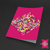 A4 Business Blank. Abstract Vector Illustration. Can Be Used For Advertising, Marketing, Presentation royalty free illustration