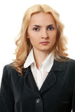 Business blonde woman Royalty Free Stock Images