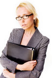 Business blonde woman Stock Photography