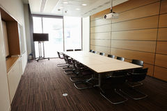 Business boardroom without people Royalty Free Stock Photography
