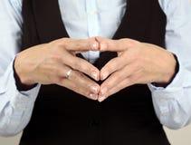 Business Body Language stock photo