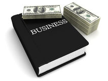 Business the book Royalty Free Stock Photo