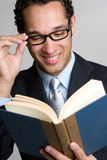 Business Book Man Stock Images