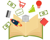 Business book Royalty Free Stock Images