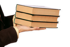 Business books Royalty Free Stock Photos