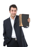 Business books Stock Photography