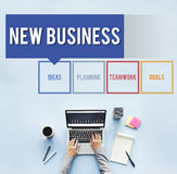 Business Box Words Diagram Concept Stock Images