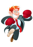 Business boxer Royalty Free Stock Images