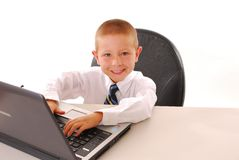 Business Boy 12 Stock Photography