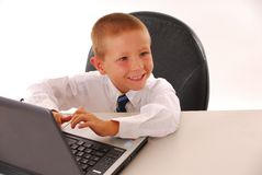 Business Boy 13 Royalty Free Stock Photo