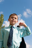Business boy Royalty Free Stock Photography