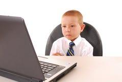 Business Boy 15 Royalty Free Stock Photo