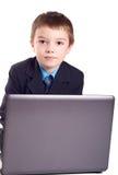Business boy Stock Image