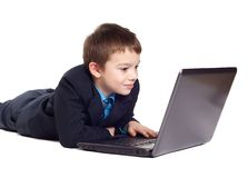 Business boy Royalty Free Stock Image