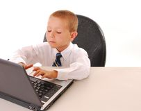 Business Boy 20 Royalty Free Stock Image