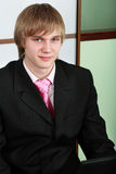 Business boy Stock Images