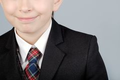 Business boy close-up Stock Photography