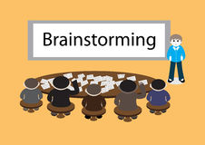 Business brainstorming Royalty Free Stock Photo