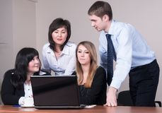Business brainstorming Stock Images