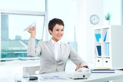 Business break Royalty Free Stock Images