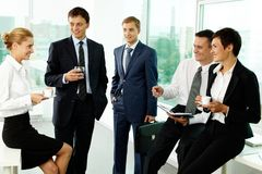 Business break Stock Photos