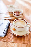 Business breakfast Stock Photography