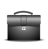 Business brief-case on a white background Stock Photos