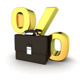Business briefcase Stock Images