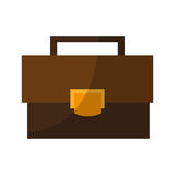 Business briefcase icon Royalty Free Stock Images