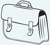 Business briefcase Royalty Free Stock Photos