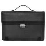 Business briefcase. Isolated on white background Royalty Free Stock Images