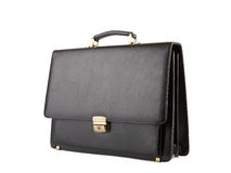 Business Briefcase on white. XXL Stock Images