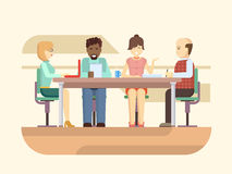 Business briefing Royalty Free Stock Image